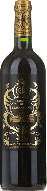 LA CROIX DE BEAUCAILLOU Second wine of Chateau Ducru-Beaucaillou, St-Julien 2013