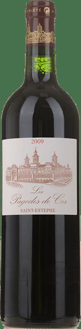 LES PAGODES DE COS Second wine of Chateau Cos d'Estournel, St-Estephe 2009