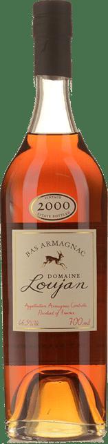 LOUJAN Armagnac 46.5% ABV, Bas Armagnac 2000