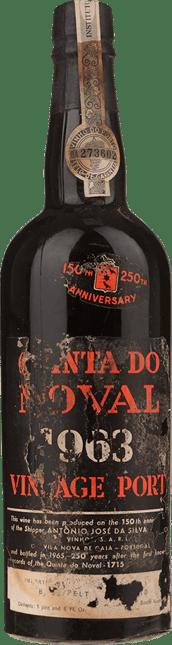 QUINTA DO NOVAL Vintage Port, Oporto 1963