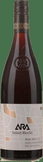 ARA WINES Select Block Pinot Noir, Marlborough 2010