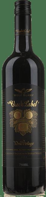 WOLF BLASS WINES Black Label, South Australia 2004