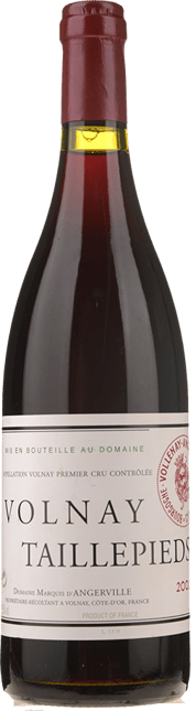 DOMAINE MARQUIS D'ANGERVILLE 1er cru, Volnay-Taillepieds 2002