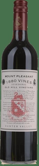 MOUNT PLEASANT 1880 Vines Old Hill Vineyard Shiraz, Hunter Valley 2014