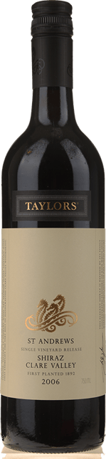TAYLORS WINES St. Andrews Shiraz, Clare Valley 2006
