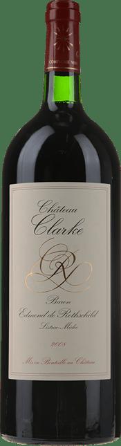 CHATEAU CLARKE, Listrac 2008