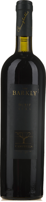 CAMPBELLS WINES The Barkly Durif, Rutherglen 1995