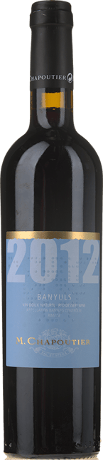 M. CHAPOUTIER, Banyuls Rouge 2012
