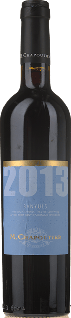 M. CHAPOUTIER, Banyuls Rouge 2013