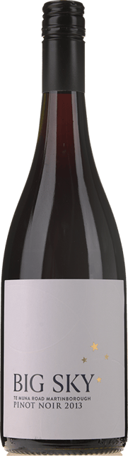 BIG SKY Te Muna Road Pinot Noir, Martinborough 2013