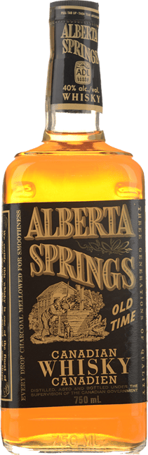 ALBERTA SPRINGS Old Time 40% ABV, Canada NV