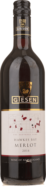 GIESEN ESTATE WINES Merlot, Hawkes Bay 2014