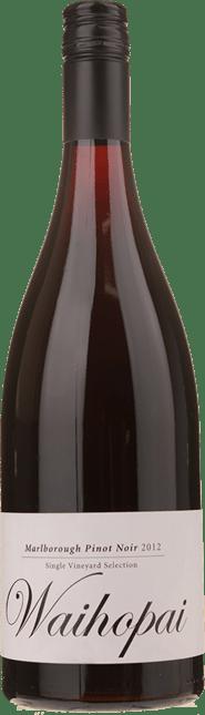GIESEN ESTATE WINES Single Vineyard Selection Waihopai Pinot Noir, Marlborough 2012