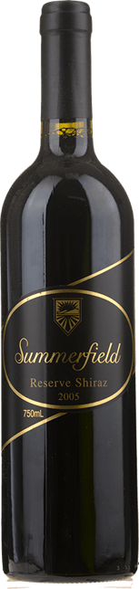 SUMMERFIELD WINES Reserve Shiraz, Pyrenees 2005