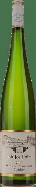 JOH. JOS. PRUM Wehlener Sonnenuhr Riesling-Spatlese, Mosel-Saar-Ruwer 2015