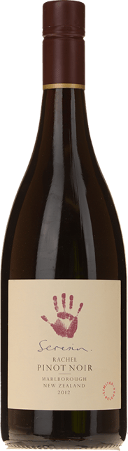 SERESIN ESTATE Rachel Pinot Noir, Marlborough 2012