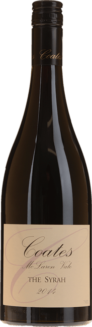COATES The Syrah Syrah, McLaren Vale, Langhorne Creek 2014