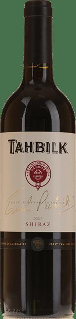 TAHBILK WINES Eric Stevens Purbrick Shiraz, Nagambie Lakes 2007