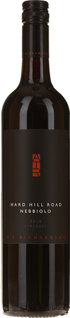 A.T.RICHARDSON WINES Hard Hill Road Nebbiolo, Pyrenees 2015