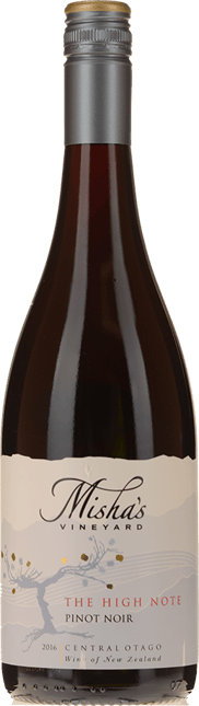 MISHA'S VINEYARD The High Note Pinot Noir, Central Otago 2016