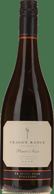 CRAGGY RANGE WINERY Te Muna Road Vineyard Pinot Noir, Martinborough 2016