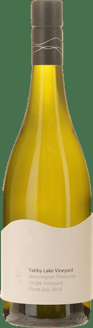 YABBY LAKE VINEYARD Single Vineyard Pinot Gris, Mornington Peninsula 2018