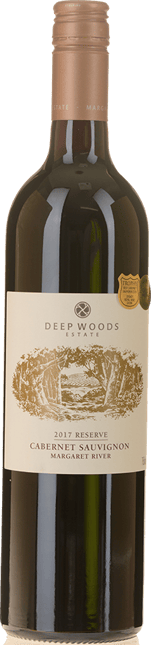 DEEP WOODS ESTATE Reserve Cabernet Sauvignon, Margaret River 2017