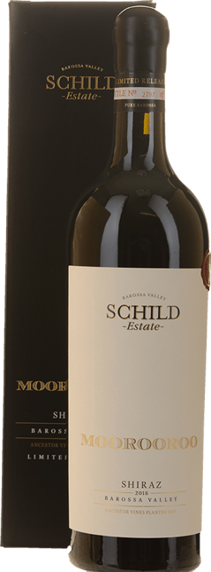 SCHILD ESTATE Moorooroo Shiraz, Barossa Valley 2016