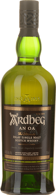 ARDBEG An Oa Scotch Whisky 46.6% ABV, Scotland NV