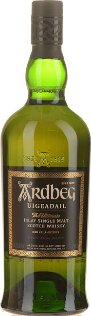 ARDBEG Uigeadail Scotch Whisky 54.2% ABV, Scotland NV