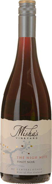 MISHA'S VINEYARD The High Note Pinot Noir, Central Otago 2017