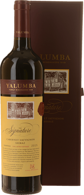 YALUMBA The Signature (Individually Gift Boxed) Cabernet Shiraz, Barossa Valley 2015
