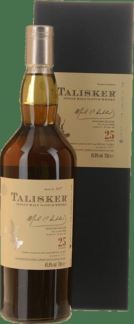 TALISKER 25 Years Old Single Malt Scotch Whisky 45.8% ABV, Skye NV