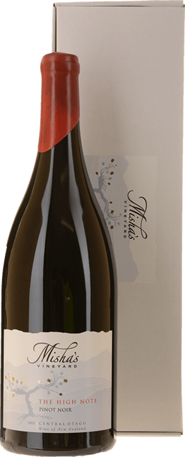 MISHA'S VINEYARD The High Note Pinot Noir, Central Otago 2015
