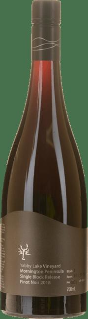 YABBY LAKE VINEYARD Single Block Release Block 1 Pinot Noir, Mornington Peninsula 2018