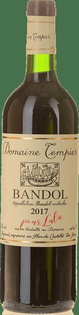 DOMAINE TEMPIER  Cuvee Classique, Bandol 2017