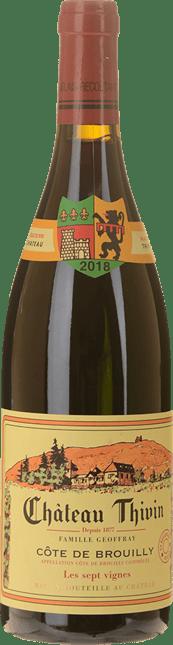 CHATEAU THIVIN Les Sept Vignes, Cote-de-Brouilly 2018