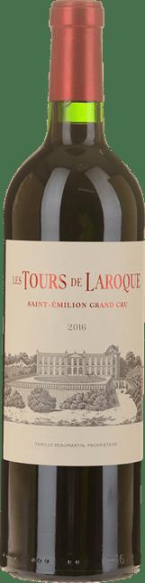 CHATEAU LAROQUE Les Tours de Laroque Grand Cru , St-Emilion 2016