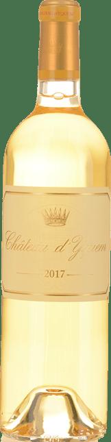 CHATEAU D'YQUEM 1er cru superieur, Sauternes 2017