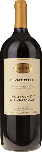 HEWITSON Private Cellar Shiraz Mourvedre, Barossa Valley 2010