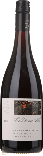 COLDSTREAM HILLS Deer Farm Vineyard Pinot Noir, Yarra Valley 2012