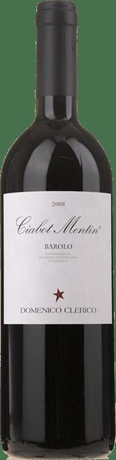 DOMENICO CLERICO Ciabot Mentin, Barolo DOCG 2008
