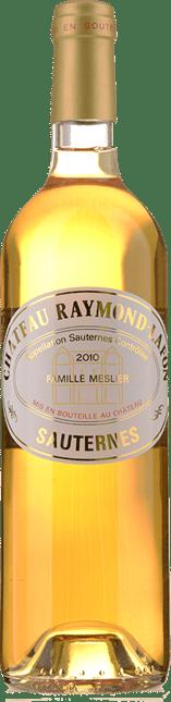 CHATEAU RAYMOND LAFON, Sauternes 2010
