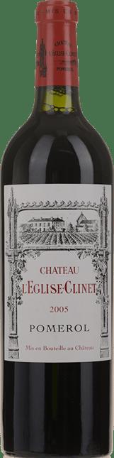 CHATEAU L'EGLISE CLINET, Pomerol 2005
