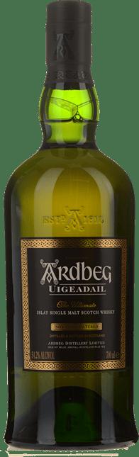 ARDBEG Uigeadail Scotch Whisky 54.2% ABV, Scotland NV