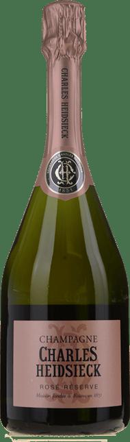 CHARLES HEIDSIECK Brut Rose, Champagne NV