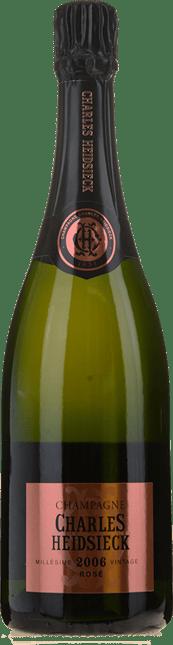 CHARLES HEIDSIECK Brut Rose Vintage, Champagne 2006