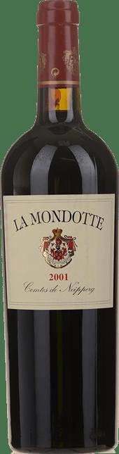 LA MONDOTTE 1er grand cru classe (B), St-Emilion 2001
