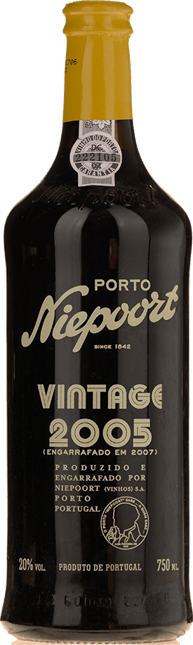 NIEPOORT & CO. Vintage Port, Oporto 2005