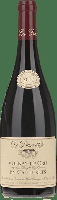 DOMAINE DE LA POUSSE D'OR Volnay 1er Cru Clos de la Bousse d'Or , Burgundy 2012
